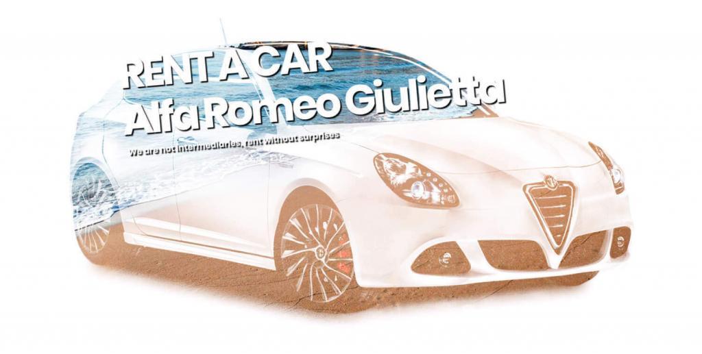 Alfa Romeo Giulietta zu mieten