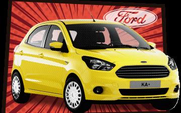 Забронировать Ford KA