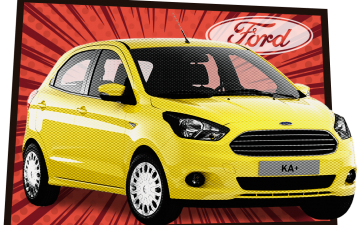 Rent Ford KA