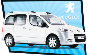 Buchen Peugeot Partner Tepee